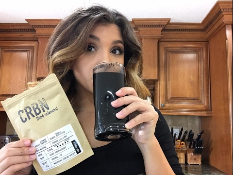 DRINKING CHARCOAL