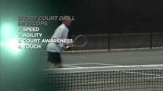 Ivan Lendl Instruction- Short-Court drills