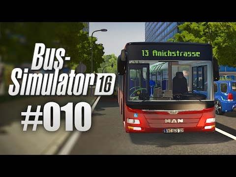 BUS-SIMULATOR 16 #10 - Die Polizei im Stau! I Let's Play Bus Simulator 2016 deutsch HD