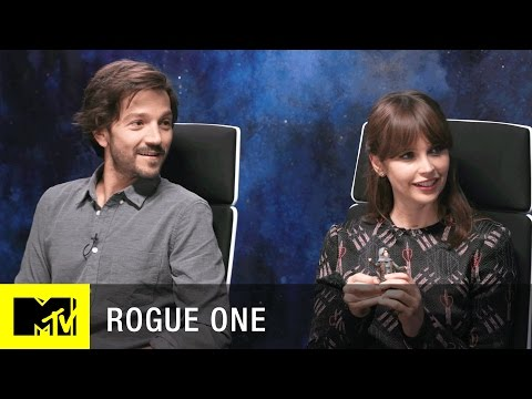 Star Wars: Rogue One Interview w/ Felicity Jones, Diego Luna, & Josh Horowitz | MTV Live