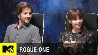 Star Wars: Rogue One Interview w/ Felicity Jones, Diego Luna, & Josh Horowitz | MTV Live