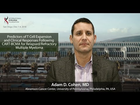 Predictors of T Cell Expansion and Clinical Responses Following CART-BCMA for RRMM
