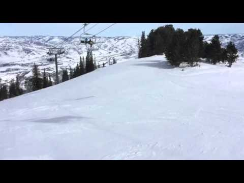 The 2002 Olympic Downhill in Snowbasin