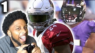 TD Finds Out He Has a Son!!! Dre Makes New Imprint on Old Rivalry! MADDEN 17 CAREER MODE RB EP 1