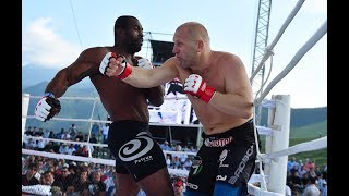 Sergey Kharitonov against the Giant from Brazil! Geronimo Mondragon Dos Santos! A rare submission!