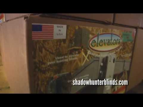DIY Elevated Blind using Elevators