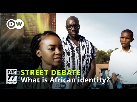 Why is African identity so important to many young Africans?