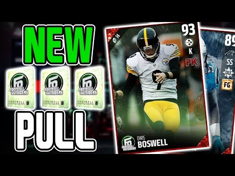 NEW FOOTBALL OUTSIDERS PULL!! MADDEN 17 PACK OPENING! MUT 17 OOP PLAYERS PULL! MUT 17 GHOST CARDS!