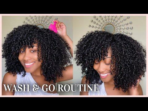 Download My Summer Wash & Go Routine 2021   Gel Free   Detailed + Tips