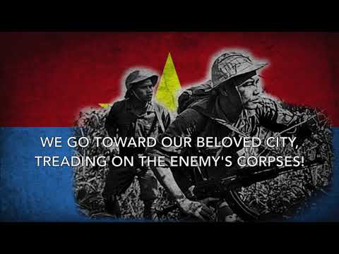 Mỗi Bước Ta Đi - Viet Cong Song (English Lyrics)