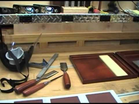 Woodworking Sharpening Station Part 1 - YouTube