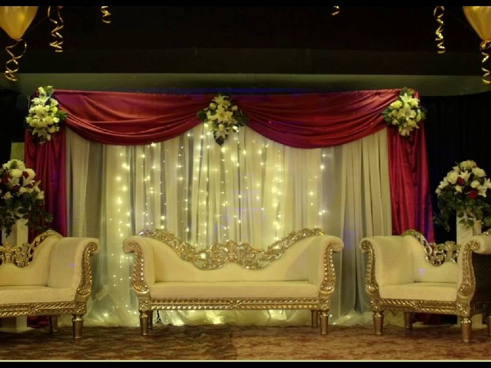 Best stage decoration ideas for indian wedding youtube junglespirit Images