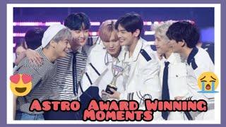Astro Award Winning Moments   (아스트로 상을 타다)