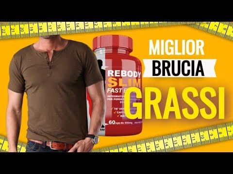 Miglior Brucia grassi - Rebody Slim Integratore per Dimagrire 100% Naturale