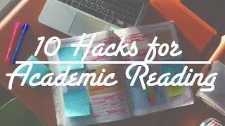 10 Hacks for Academic Reading