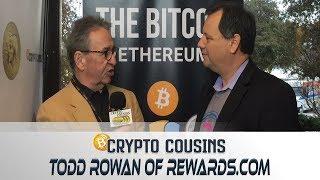 Interview with Rewards.com CEO Todd Rowan | 2018 Bitcoin Ethereum Blockchain Super Conference