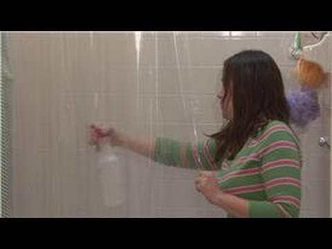 Housecleaning & Home Maintenance : How to Make a Shower Curtain Mold ...