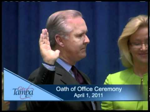 City of Tampa Oath of Office Ceremony
