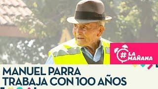 Hombre continúa trabajando a sus 100 años para sentirse vivo - La Mañana