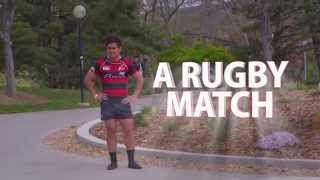 Rugby Match Breaks Out On Campus Thumbnail