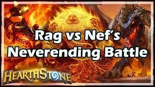 [Hearthstone] Rag vs Nef's Neverending Battle - Tavern Brawl #143