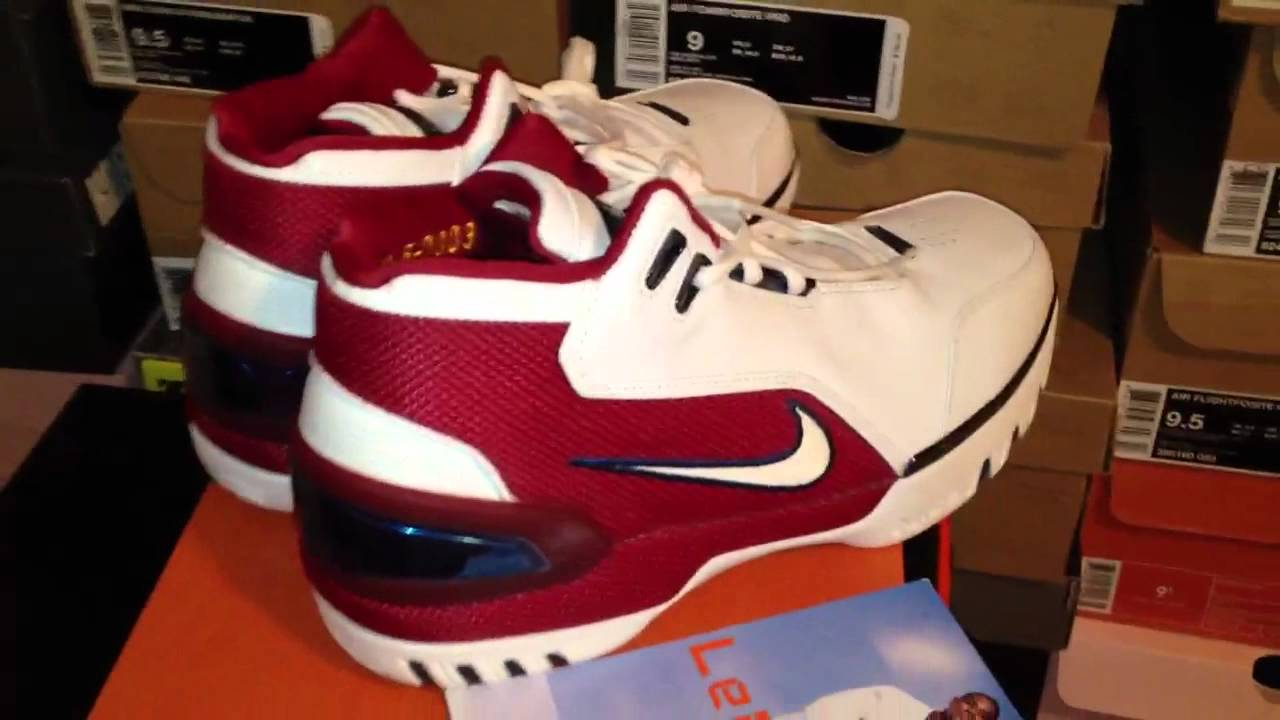 4a37f370bb0f4 Lebron 1st Game Nike Zoom Generation Review - YouTube