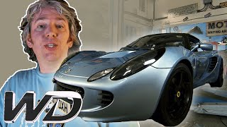 Lotus Elise S2: Small Upgrades To Optimise Handling And Performance | Wheeler Dealers
