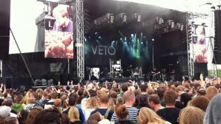 veto - built to fail LIVE - Northside Aarhus 2011