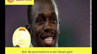 Bolt: 'My sport needs me to win Olympic gold' |  By : CNN
