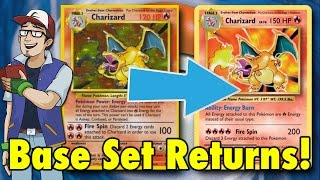 Base Set Returns! - Pokémon TCG Evolutions Review