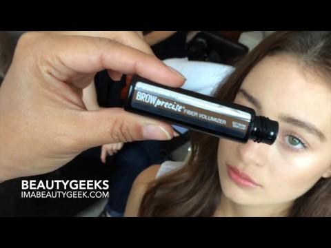 0aa26484869 BEAUTYGEEKS: Maybelline Brow Precise Fiber Volumizer Mascara - YouTube