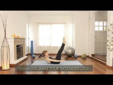 How to the 100 exercise in pilates