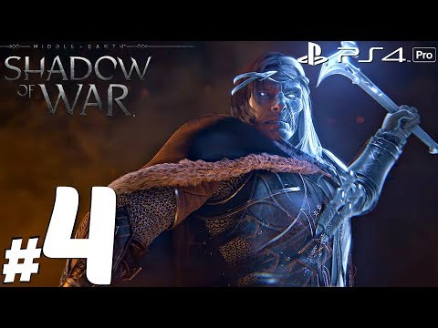 Shadow of War - Gameplay Walkthrough Part 4 - Traitor & The ARENA [1080P 60FPS] PS4 Pro