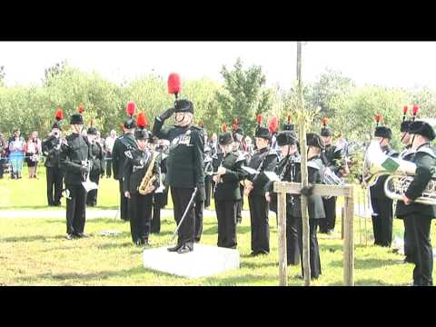 Durham Light Infantry memorial dedication