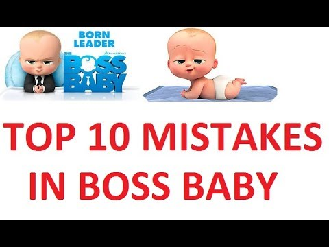 THE BOSS BABY Top 10 mistakes