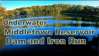 Exploring the Middletown PA Reservoir Dam and Iron Run Underwater GoPro
