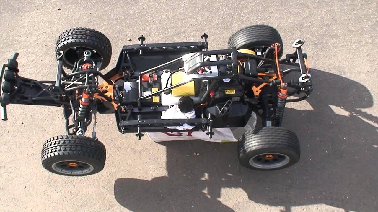 My New King Motor T1000 Baja 5t 29cc Break In Youtube