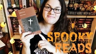 SPOOKY READING RECOMMENDATIONS!