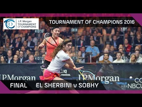 Squash: Tournament of Champions 2016 - Women\'s Final Highlights: El Sherbini v Sobhy