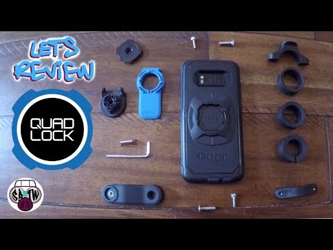 Quad Lock Phone Mount: Unboxing, Installation And First Ride