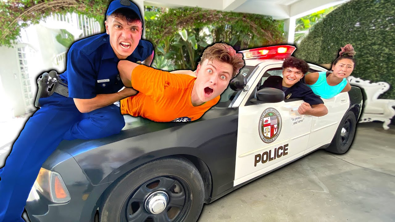 LAST TO GET ARRESTED AT FAZE HOUSE WINS!!