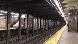 NYC Subway HD 60fps: Budd
