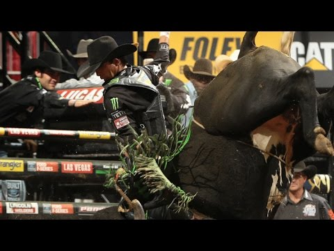 TOP RIDE: J.B. Mauney rides Wicked for 89 points
