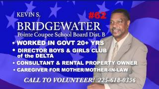 Kevin Bridgewater Schoolboard Candidate Ad