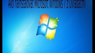 Ako nainstalovať Microsoft Windows 7 na Pc z Ovladačmi!!!