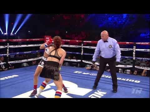 Mikaela Mayer vs. Allison Martinez   #ValdezServania