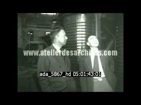 Oppenheimer et le cyclotron à Berkeley