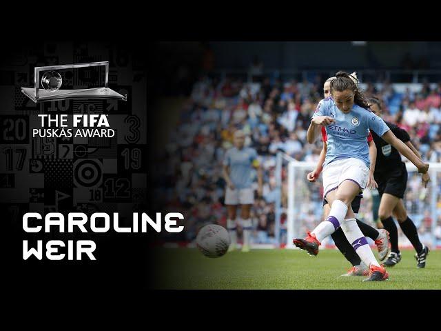 Caroline Weir Goal | FIFA Puskas Award 2020 Nominee