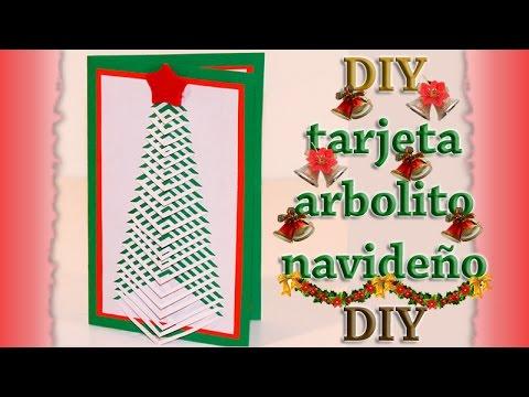 Como hacer tarjeta arbol de navidad troquelado diy how - Como hacer tarjetas de navidad ...