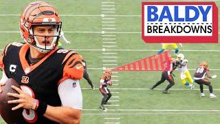Breaking Down Joe Burrow's NFL Debut | Baldy Breakdowns